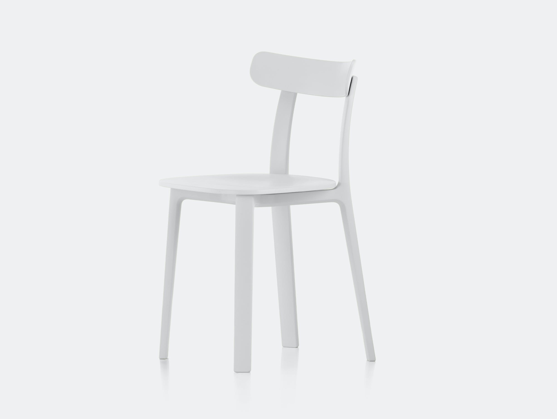 Vitra All Plastic Chair APC Morrison White 2