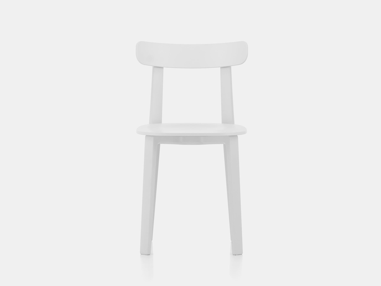 Vitra All Plastic Chair APC Morrison White