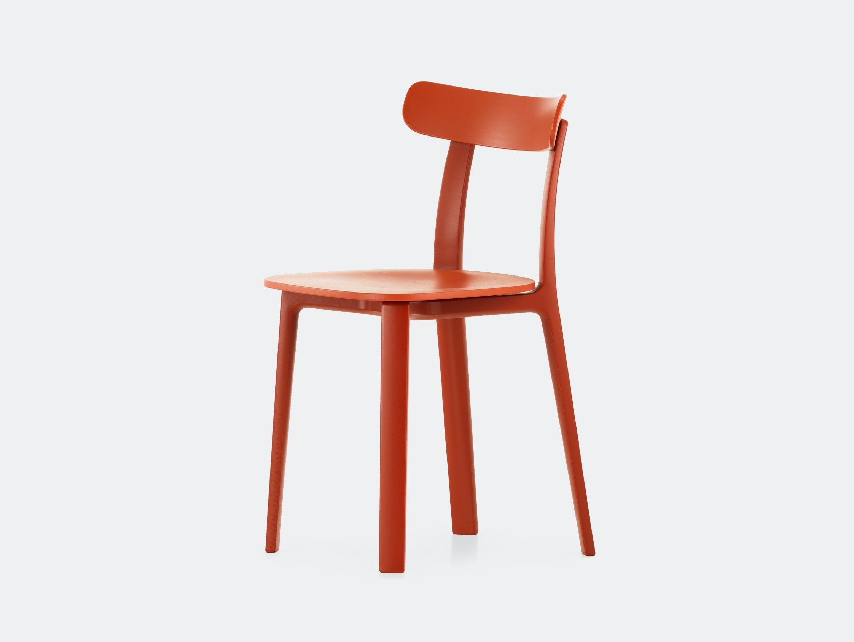 Vitra All Plastic Chair Brick Jasper Morrison