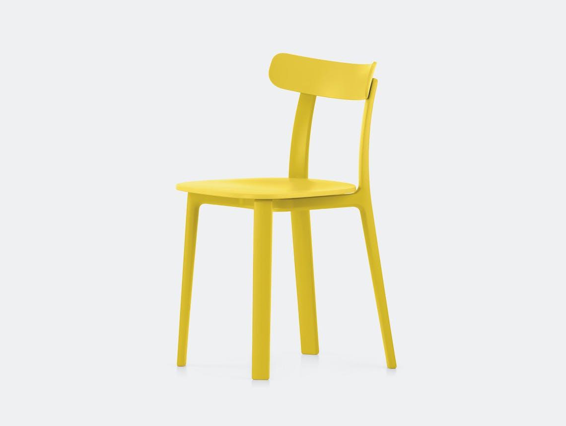Vitra All Plastic Chair Buttercup Jasper Morrison