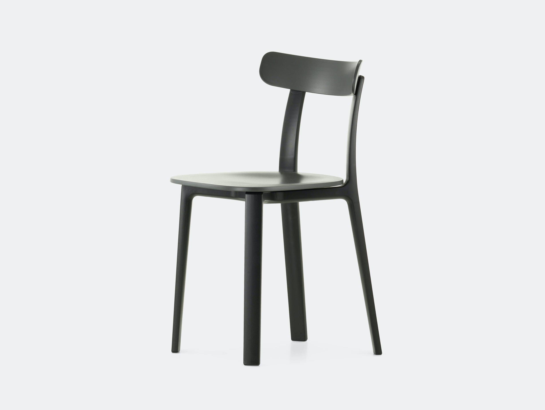 Vitra All Plastic Chair Graphite Jasper Morrison