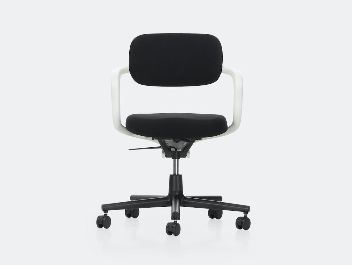 Vitra Allstar Office Chair White Black Konstantin Grcic