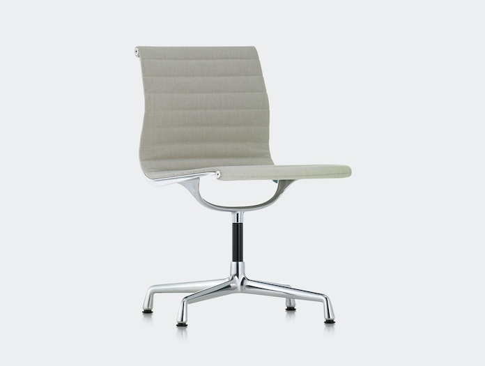 Vitra Aluminium Group Chair Beige No Arms Charles And Ray Eames