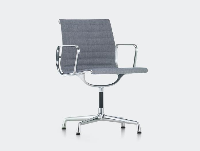 Vitra Aluminium Group Chair Blue Grey Charles And Ray Eames