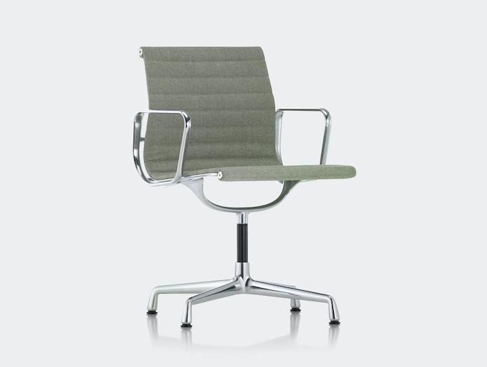 Vitra Aluminium Group Chair Pale Green Charles And Ray Eames