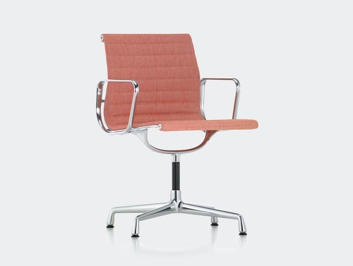 Vitra Aluminium Group Chair Pink Charles And Ray Eames