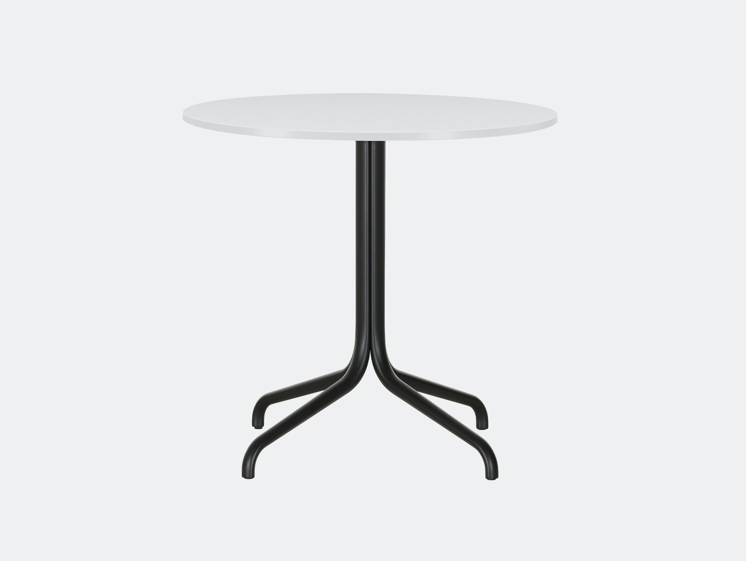 Vitra Belleville Outdoor Table White ROUND CT