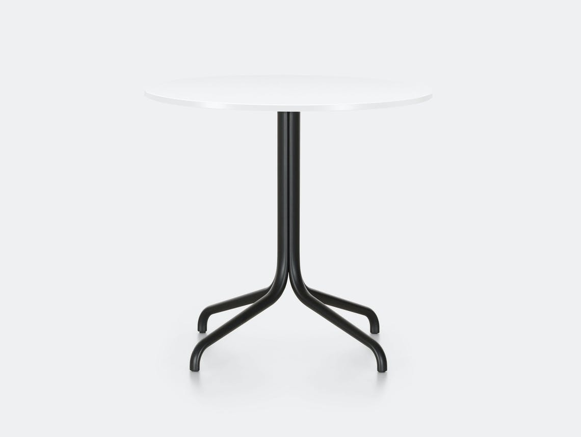 Vitra Belleville Outdoor Table Round White Ronan Erwan Bouroullec