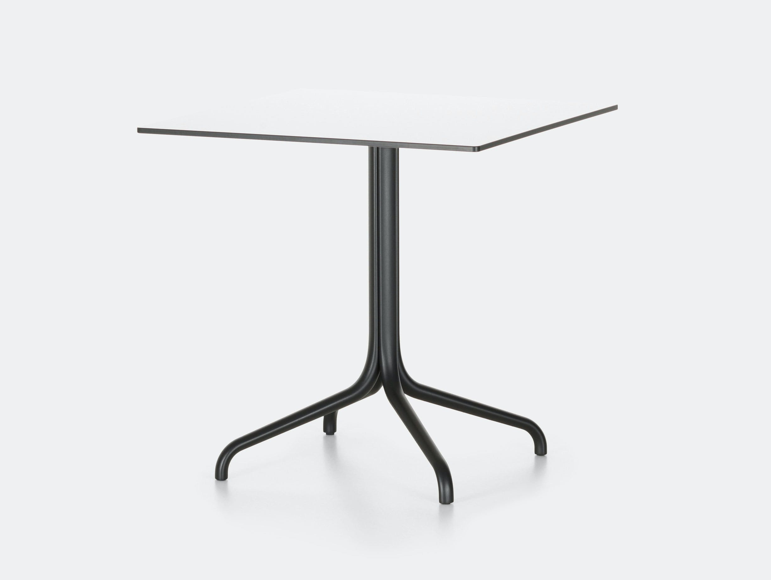 Vitra Belleville Outdoor Table Square White Ronan Erwan Bouroullec