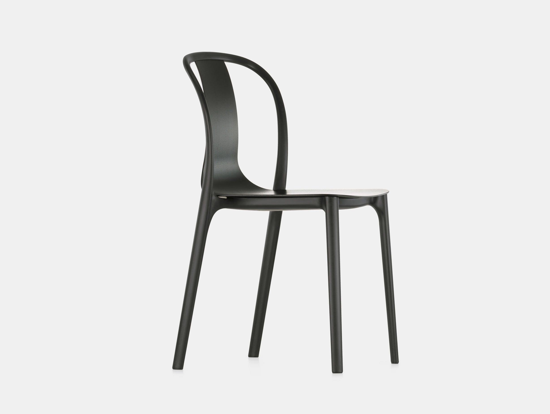 Vitra Belleville Side Chair Black Ronan And Erwan Bouroullec