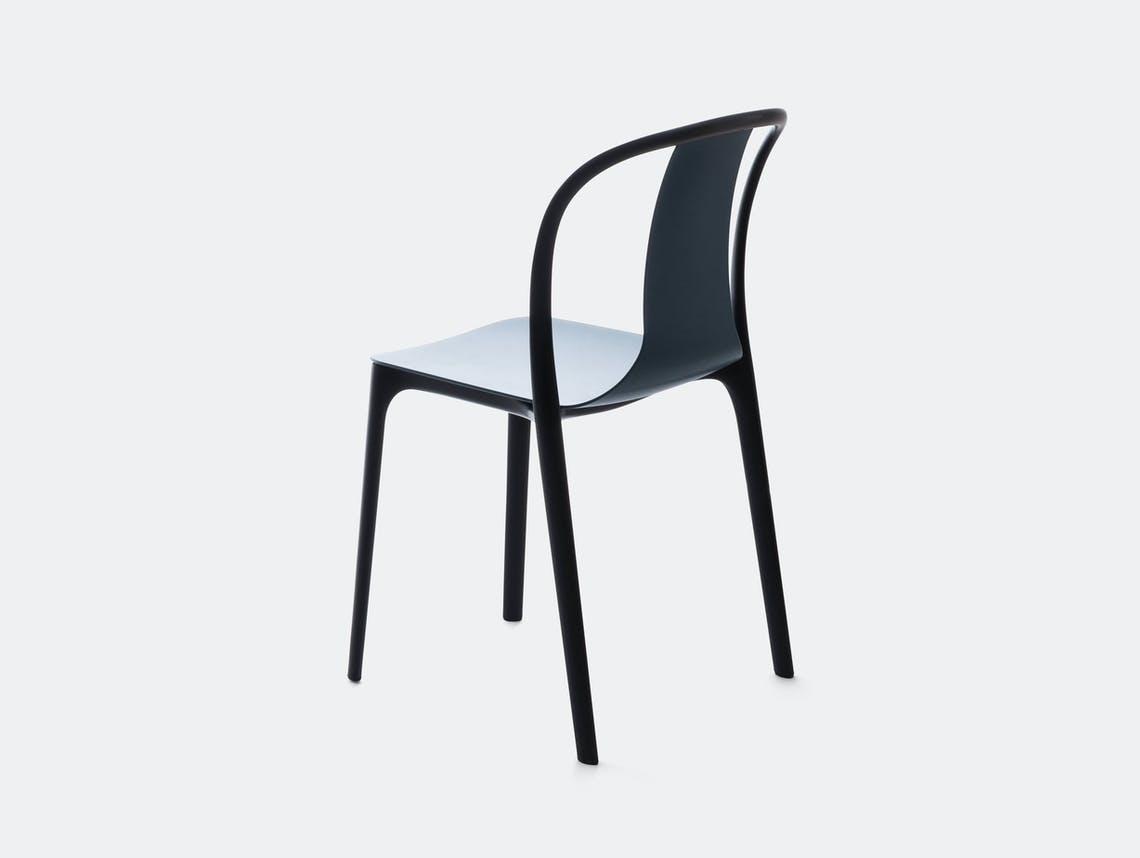 Vitra Belleville Side Chair Blue Ronan And Erwan Bouroullec