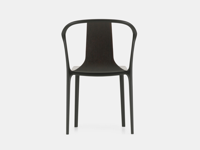 Vitra Belleville Side Chair Dark Oak Ronan And Erwan Bouroullec