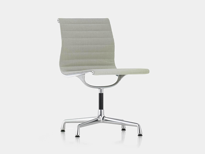 Vitra EA101 Aluminium Group Chair Grey Ivory