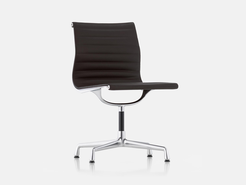Vitra EA101 Aluminium Group Chair Premium Chocolate