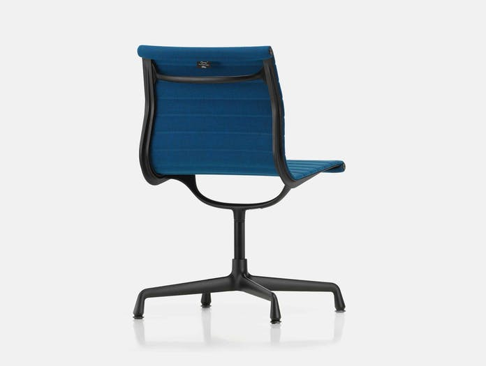 Vitra EA101 Aluminium Group Chair blue brown back