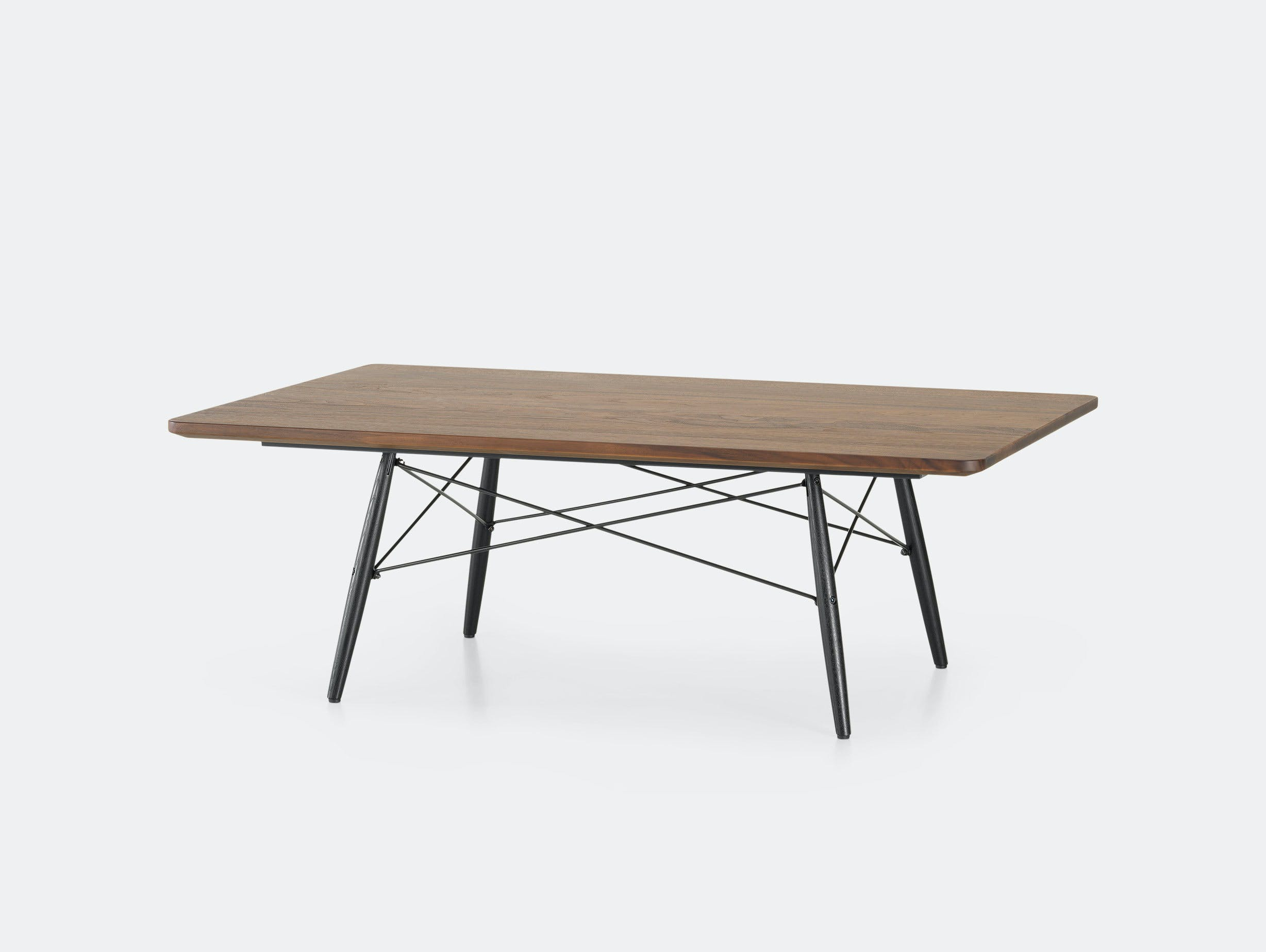 Vitra Eames Coffee Table Walnut Charles And Ray Eames