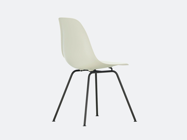 Vitra Eames DSX Plastic Chair 11 pebble Blk