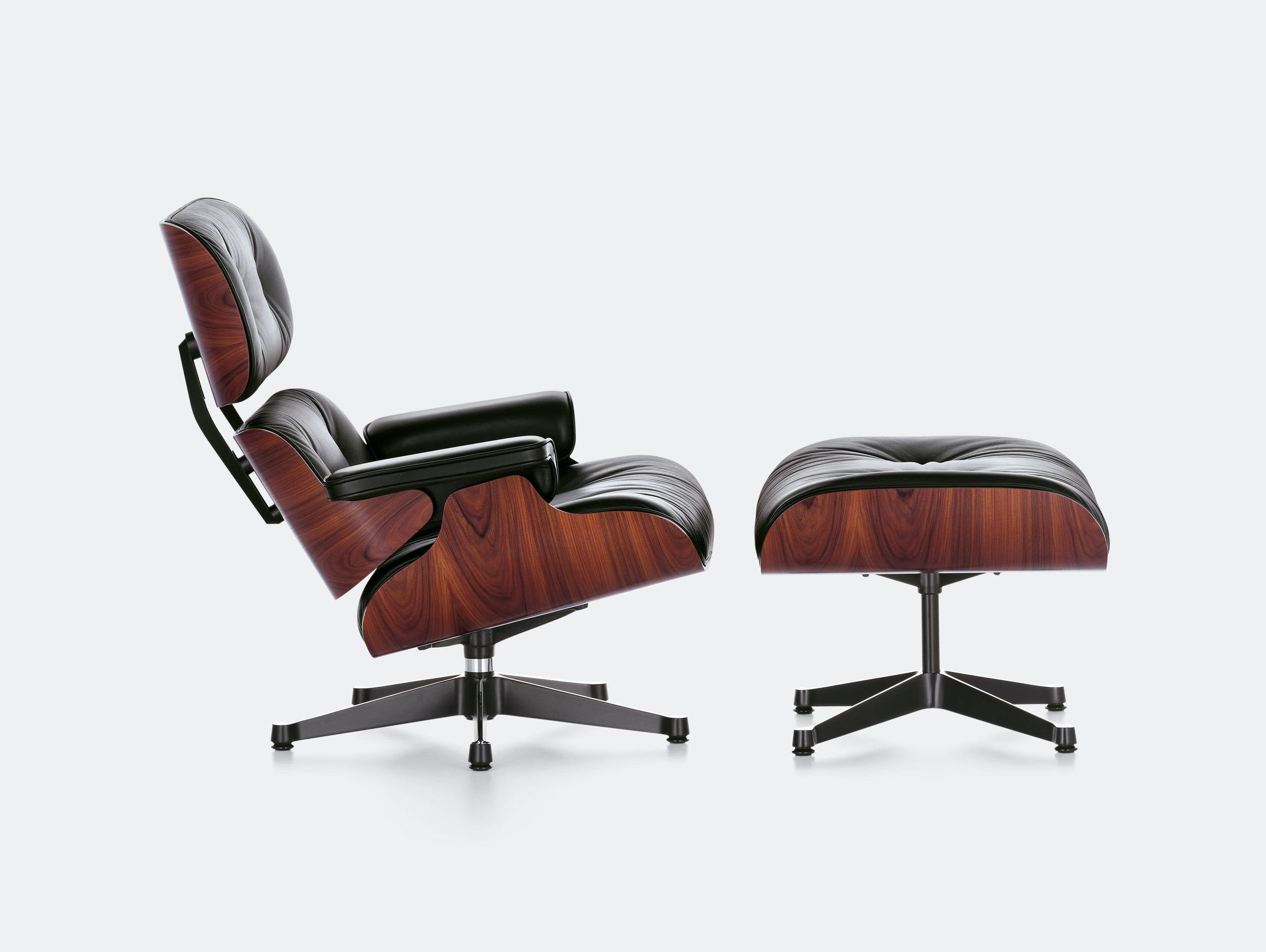 Vitra Eames Lounge Chair Ottoman Santos Palisander Charles And Ray Eames
