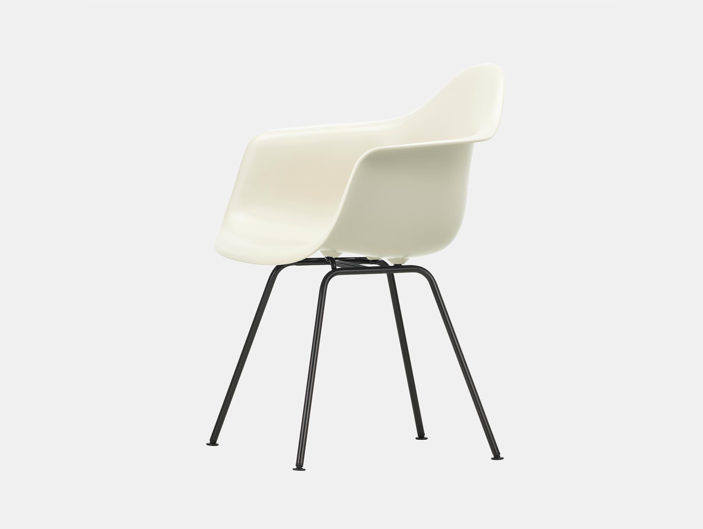 Vitra Eames Plastic Armchair DAX 11 Pebble Blk
