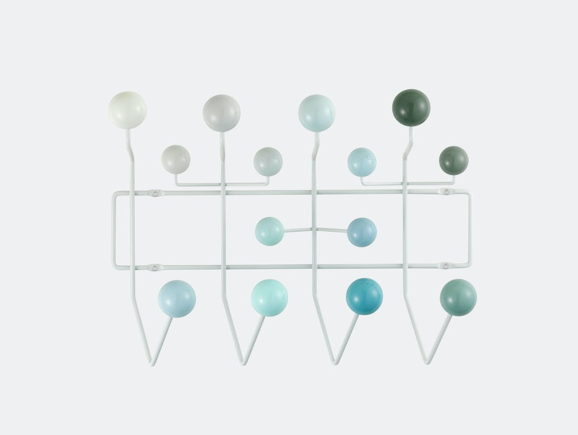 Vitra Hang It All Coat Rack White Charles And Ray Eames