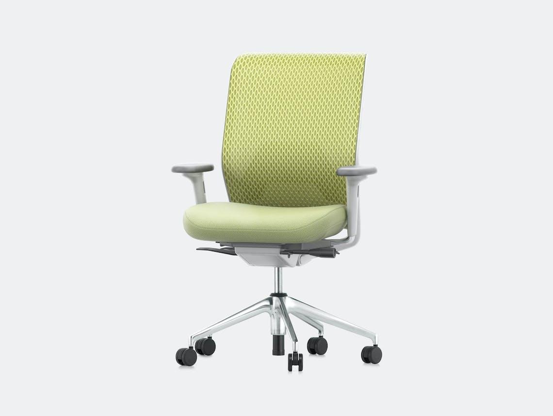Vitra Id Mesh Office Chair Green Antonio Citterio