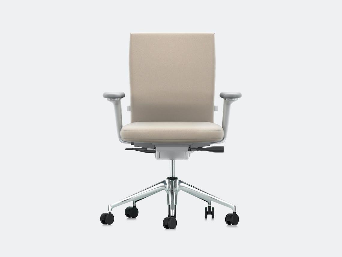 Vitra Id Soft Office Chair Cream Antonio Citterio