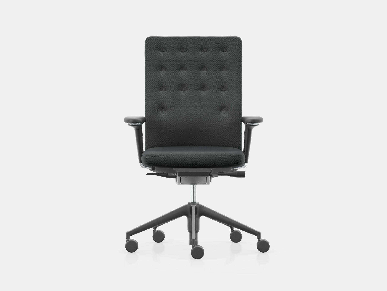 Vitra Id Trim Office Chair Black Antonio Citterio