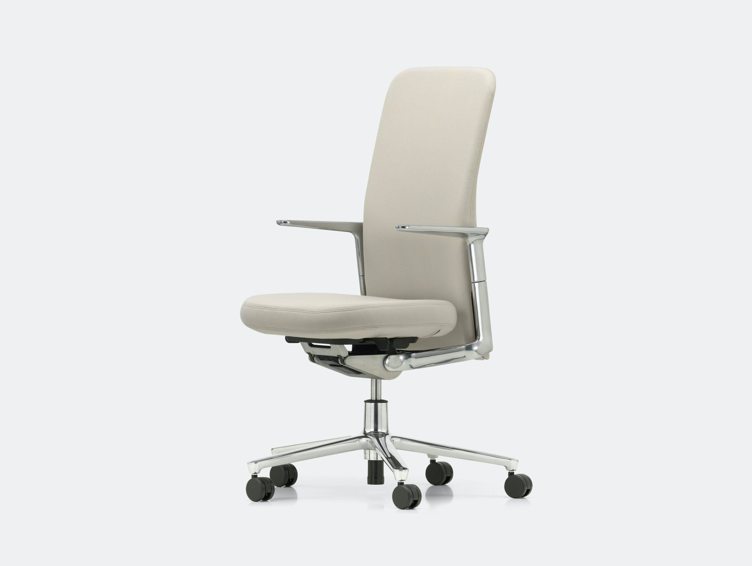 Vitra Pacific Chair Pearl Edward Barber Jay Osgerby