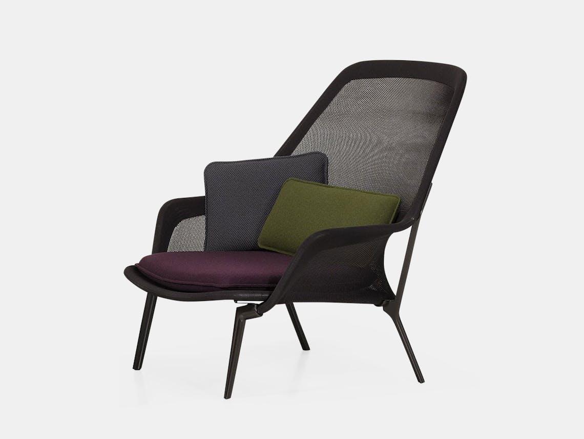 Vitra Slow Chair Brown 4 Ronan Erwan Bouroullec