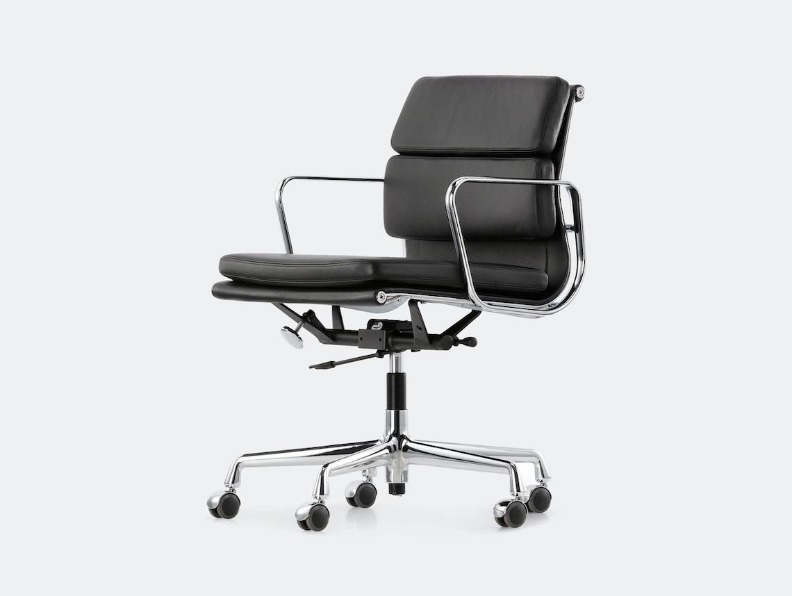 Vitra Soft Pad Group Chair Black Charles And Ray Eames