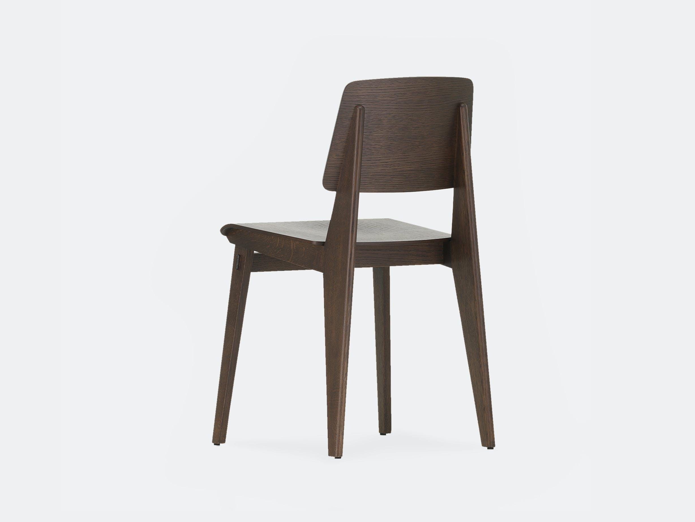 Vitra chaise tout bois prouve dark oak 3