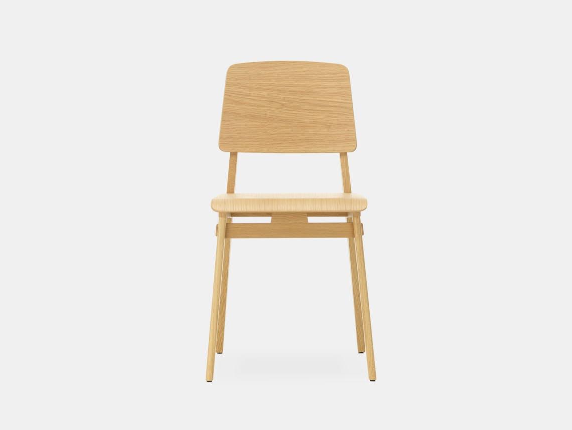 Vitra chaise tout bois prouve oak 3