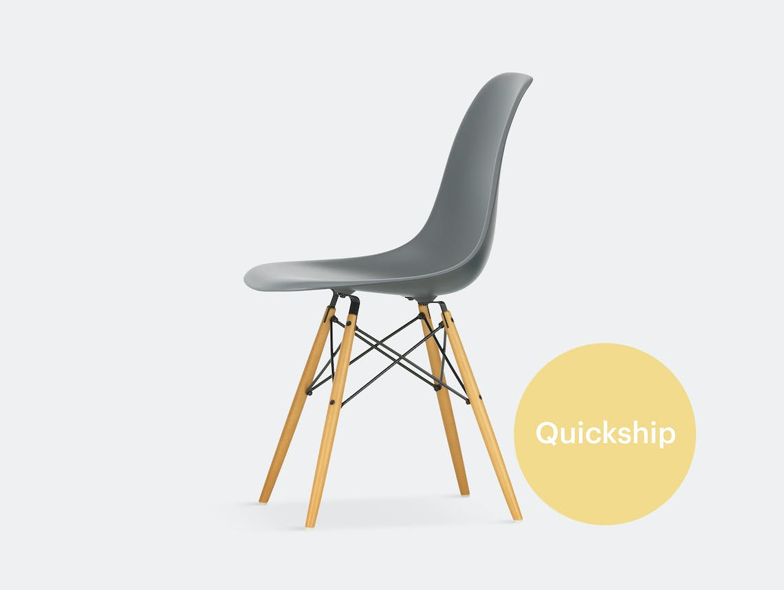 Vitra eames plastic side chair dsw qs