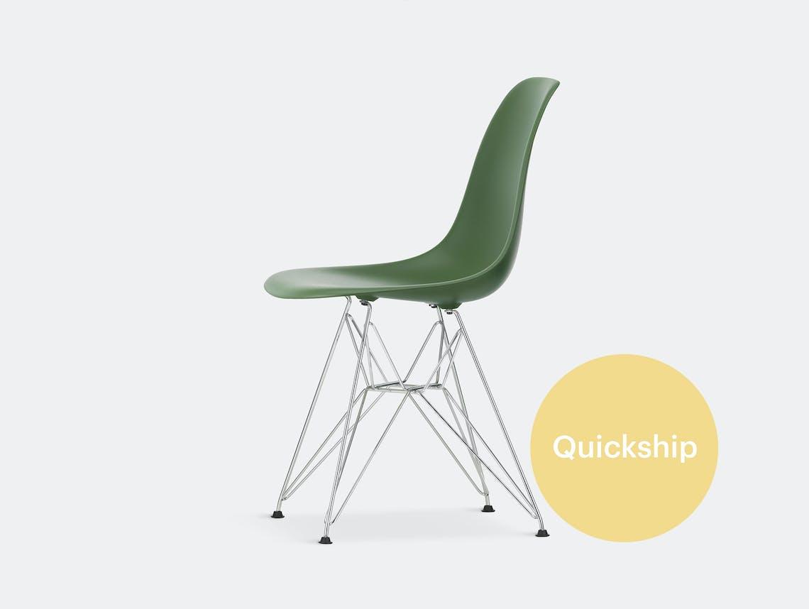 Vitra eames plastic side chair eiffel qs