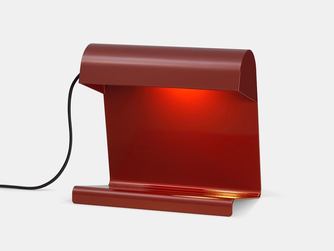 Vitra lampe de bureau red 2