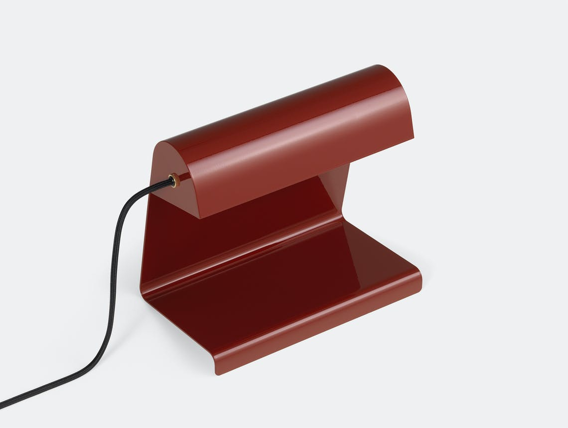 Vitra lampe de bureau red