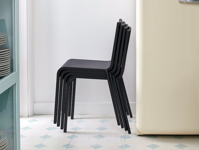 Vitra 03 chair black van severen