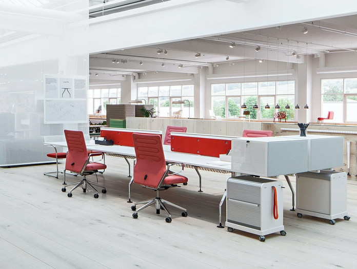 Vitra Ac4 Office Chairs