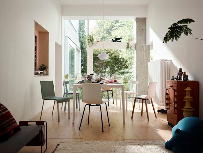 Vitra All Plastic Chair APC Morrison LS