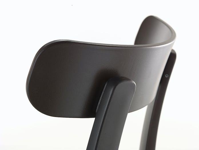 Vitra All Plastic Chair Back Detail Jasper Morrison