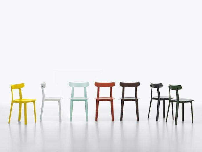 Vitra All Plastic Chair Group Jasper Morrison
