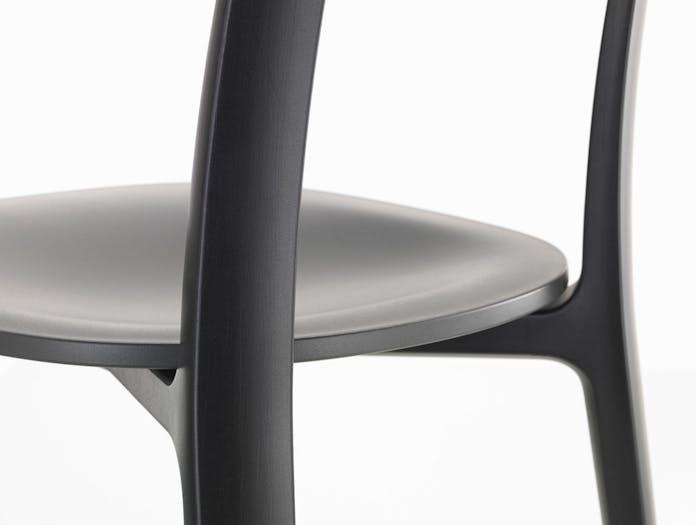 Vitra All Plastic Chair Seat Detail Jasper Morrison