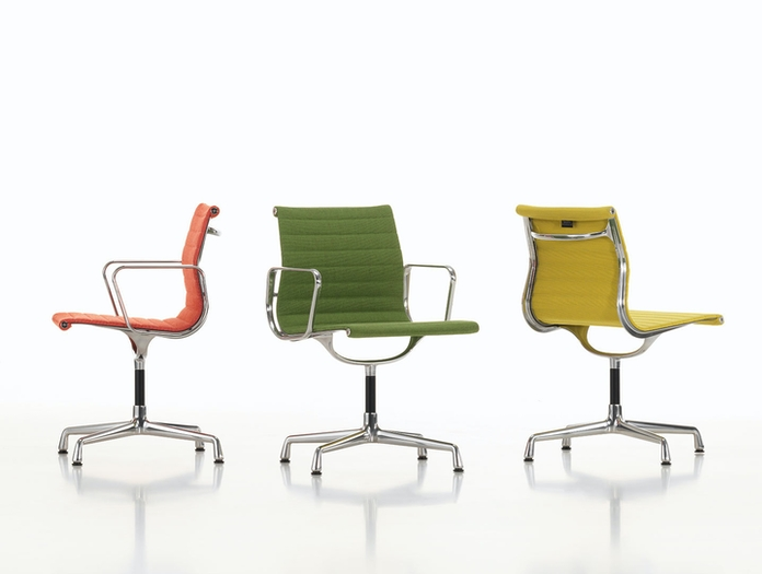 Vitra Aluminium Group Chairs Charles And Ray Eames