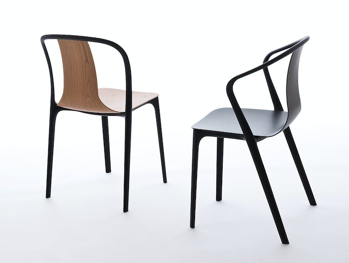Vitra Belleville Side Chair And Armchair Ronan Erwan Bouroullec
