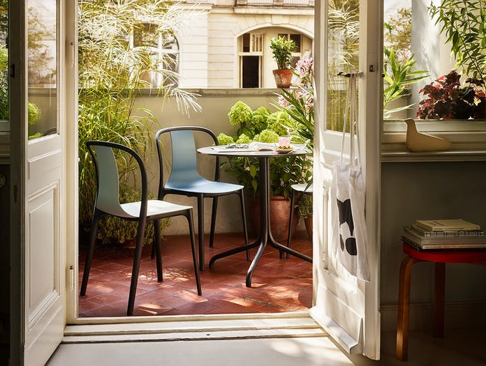 Vitra Belleville Side Chair Outdoor Ronan And Erwan Bouroullec