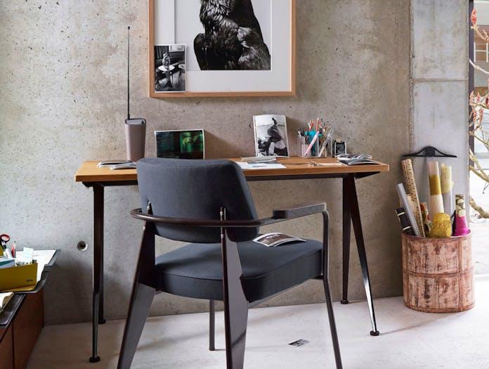 Vitra Compas Direction Desk Fauteuil Chair Jean Prouve