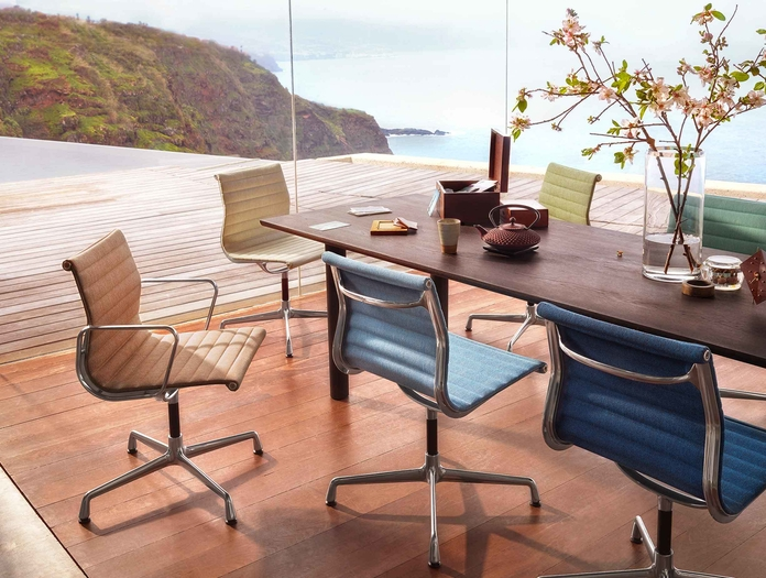 Vitra EA101 Aluminium Group Chair 3 lifestyle image
