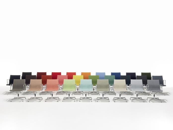 Vitra Eames Aluminium Group Colour Range
