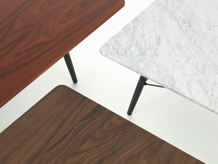 Vitra Eames Coffee Table Top Details Charles And Ray Eames
