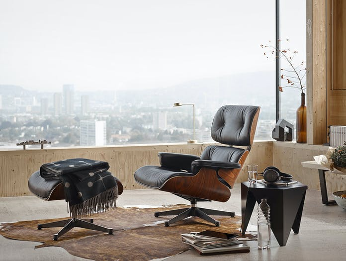 Vitra Eames Lounge Chair And Ottoman Charles And Ray Eames